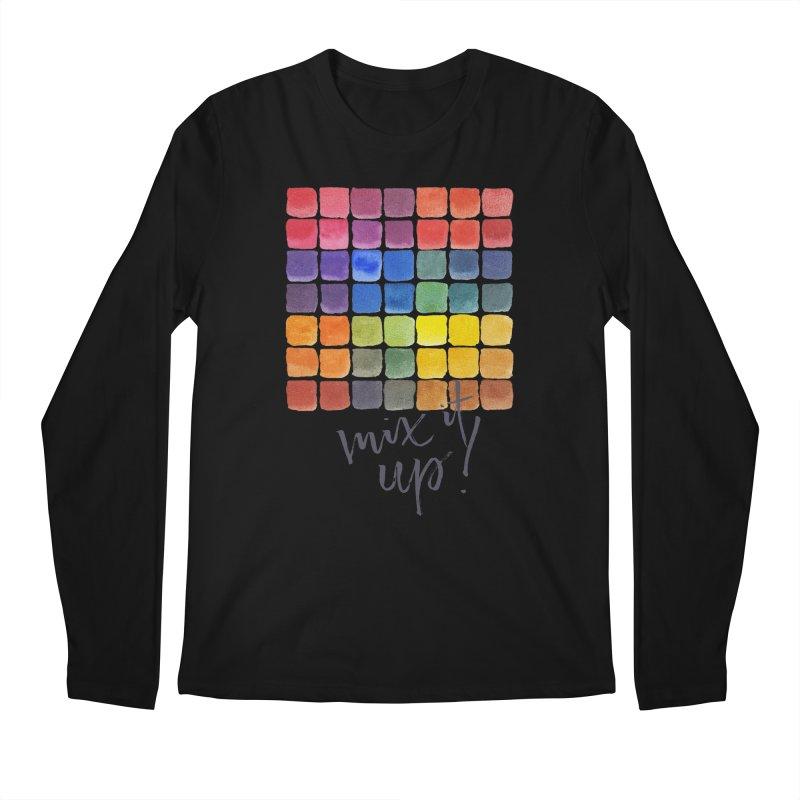 Mix it Up! - Mixing Chart Men's Longsleeve T-Shirt by milenabdesign's Artist Shop