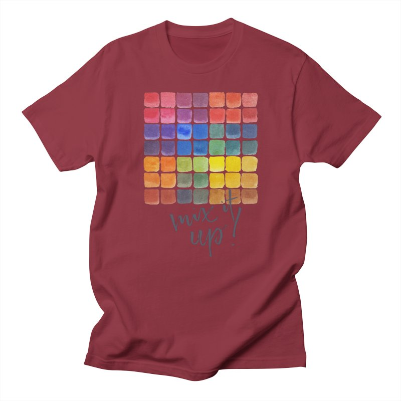 Mix it Up! - Mixing Chart Women's T-Shirt by milenabdesign's Artist Shop