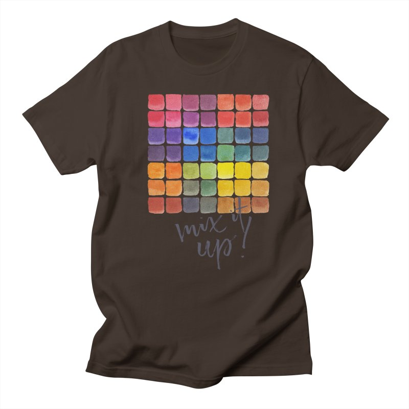 Mix it Up! - Mixing Chart Men's T-Shirt by milenabdesign's Artist Shop