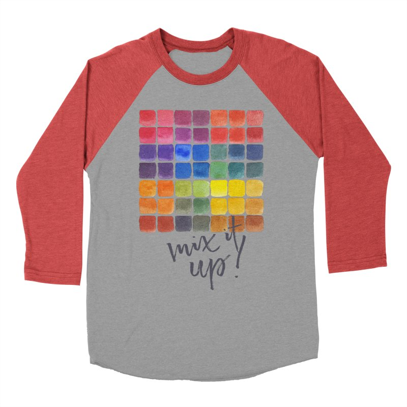 Mix it Up! - Mixing Chart Men's Longsleeve T-Shirt by milenabdesign's Artist Shop