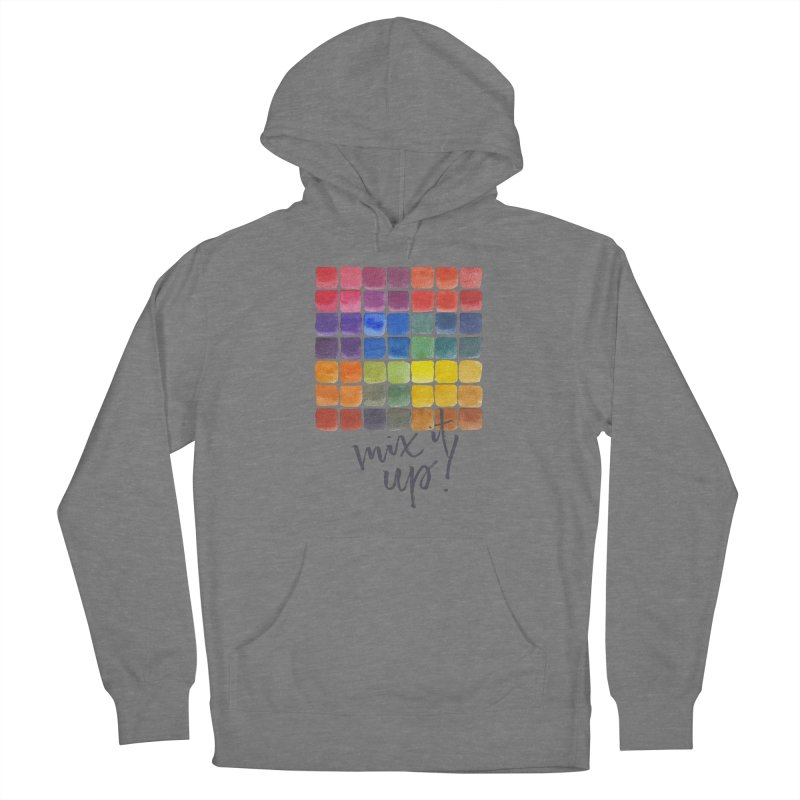 Mix it Up! - Mixing Chart Women's Pullover Hoody by milenabdesign's Artist Shop