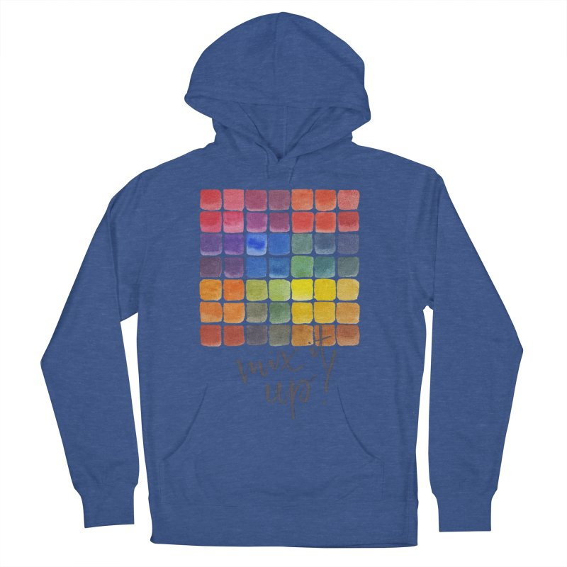 Mix it Up! - Mixing Chart Women's French Terry Pullover Hoody by milenabdesign's Artist Shop