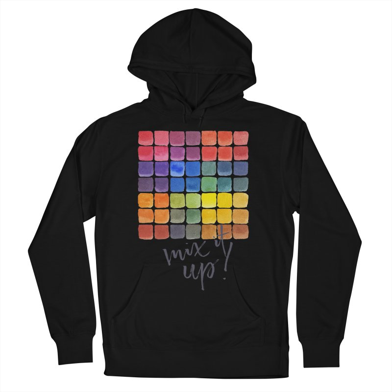 Mix it Up! - Mixing Chart Men's French Terry Pullover Hoody by milenabdesign's Artist Shop