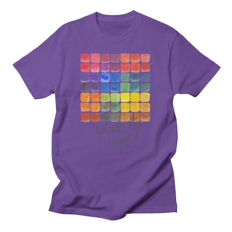 Mix it Up! - Mixing Chart Men's T-Shirt by milenabdesign's Artist Shop