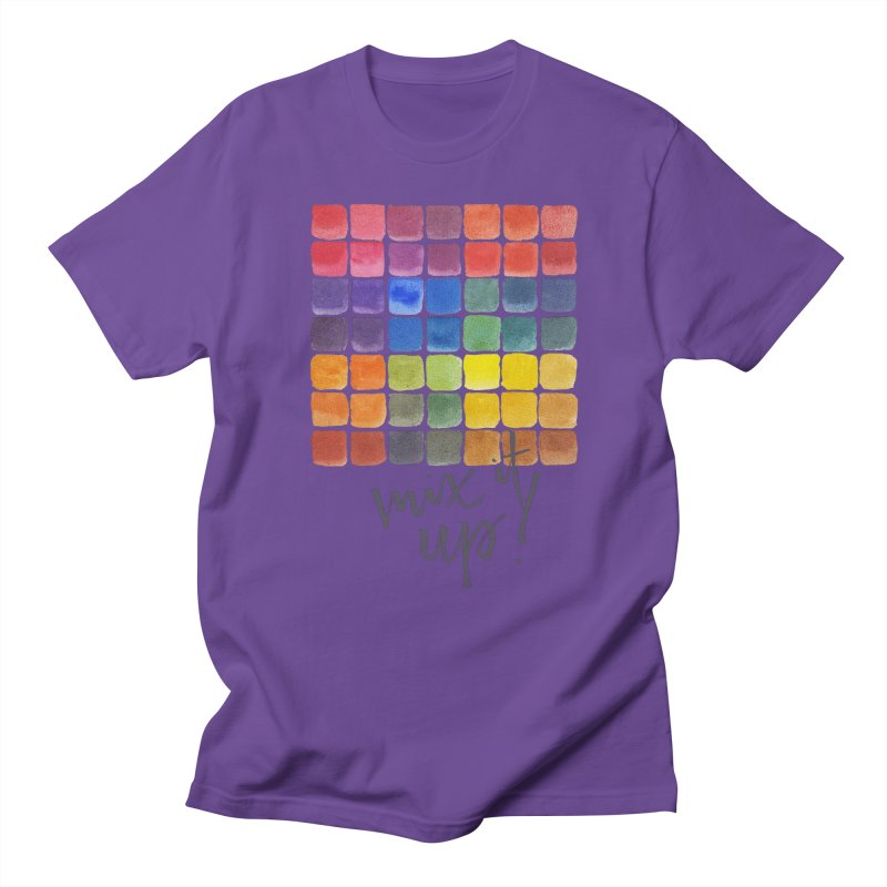 Mix it Up! - Mixing Chart Men's Regular T-Shirt by milenabdesign's Artist Shop