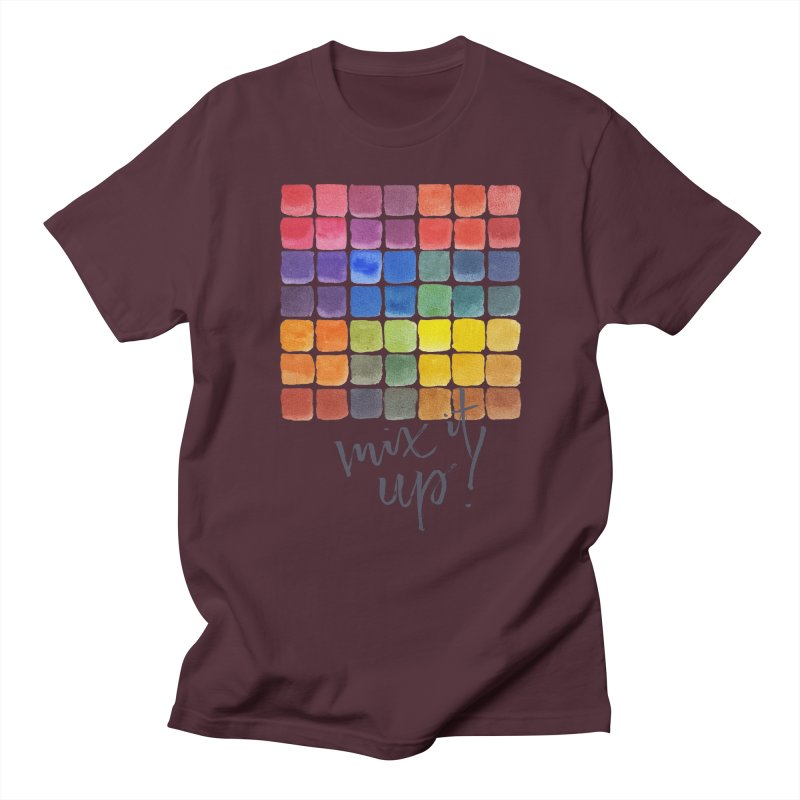 Mix it Up! - Mixing Chart Men's Regular T-Shirt by milenabdesign's Artist Shop