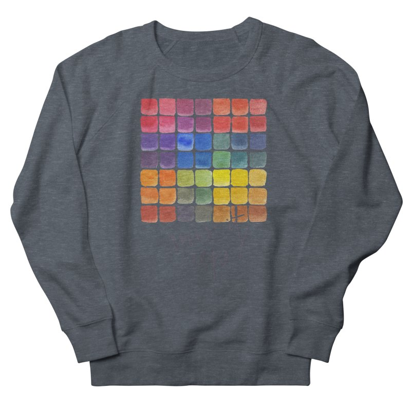 Mix it Up! - Mixing Chart Women's French Terry Sweatshirt by milenabdesign's Artist Shop