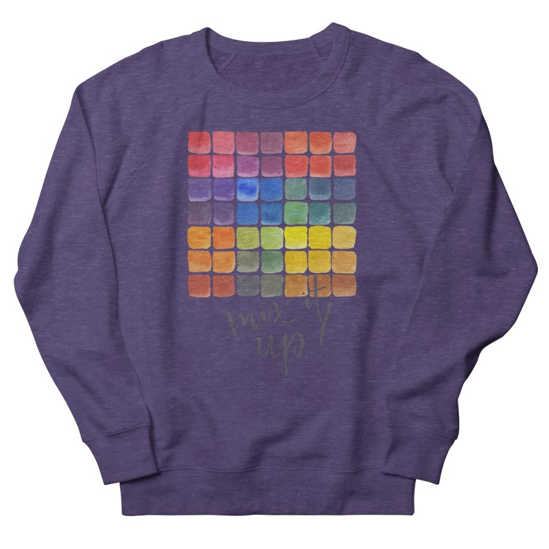 Mix it Up! - Mixing Chart Men's French Terry Sweatshirt by milenabdesign's Artist Shop