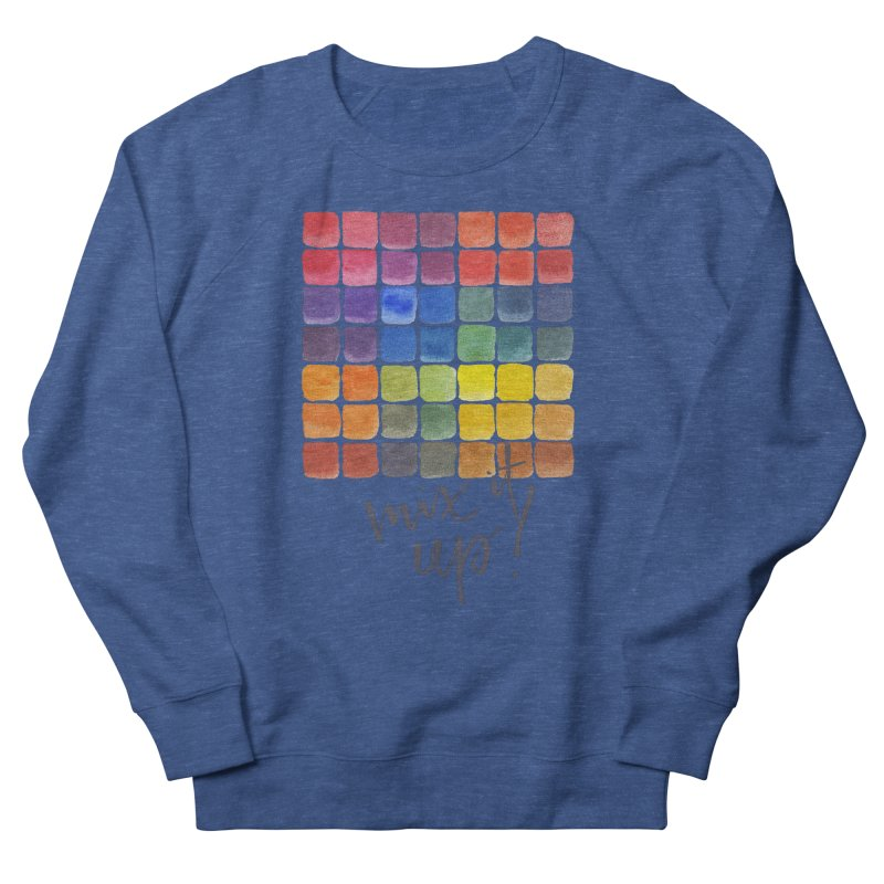 Mix it Up! - Mixing Chart Men's Sweatshirt by milenabdesign's Artist Shop