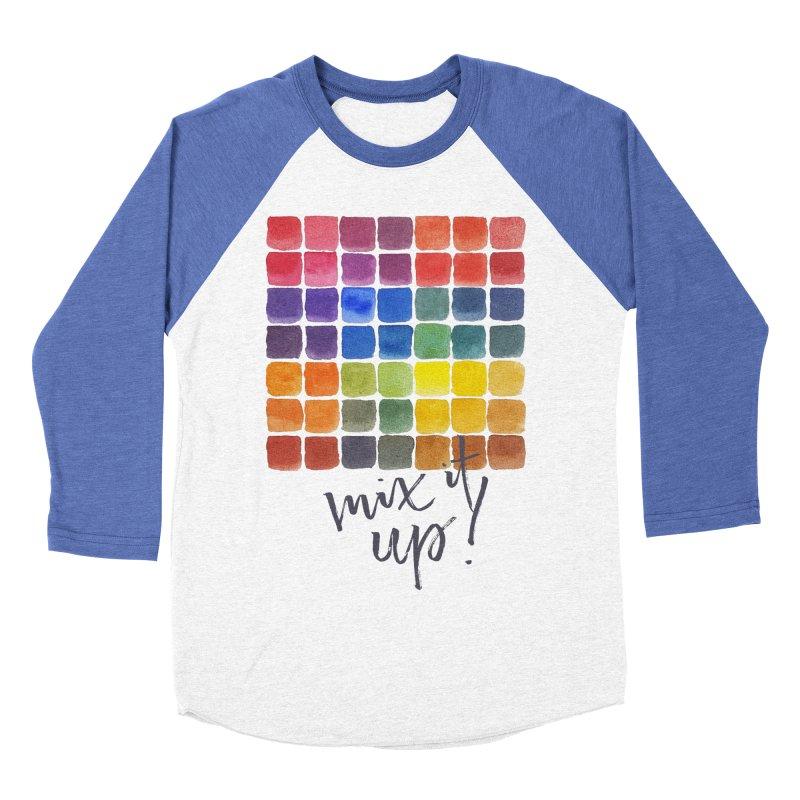 Mix it Up! - Mixing Chart Women's Baseball Triblend Longsleeve T-Shirt by milenabdesign's Artist Shop