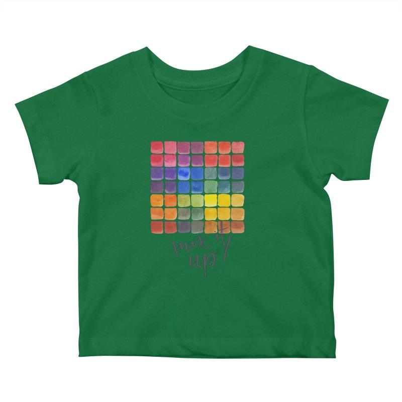 Mix it Up! - Mixing Chart Kids Baby T-Shirt by milenabdesign's Artist Shop