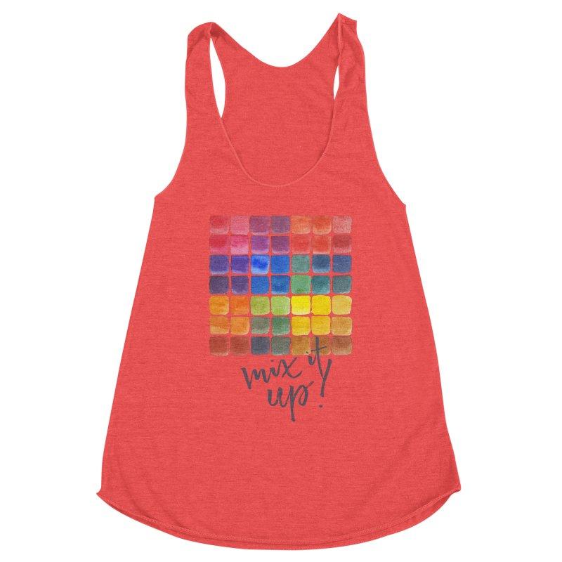 Mix it Up! - Mixing Chart Women's Tank by milenabdesign's Artist Shop