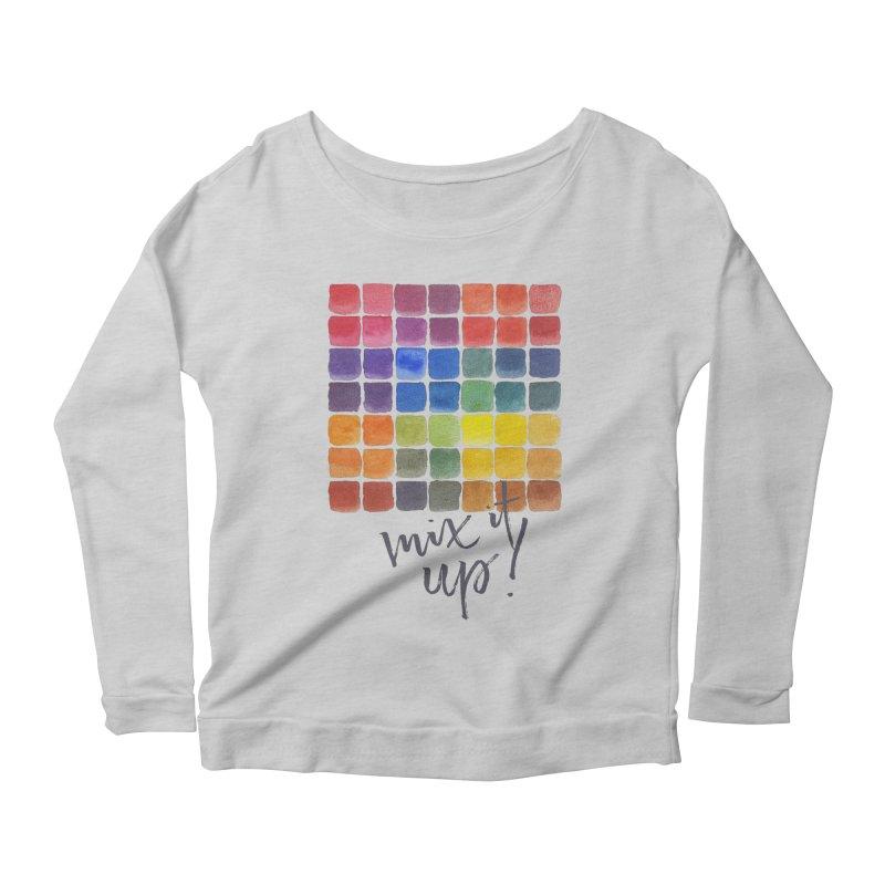 Mix it Up! - Mixing Chart Women's Longsleeve T-Shirt by milenabdesign's Artist Shop