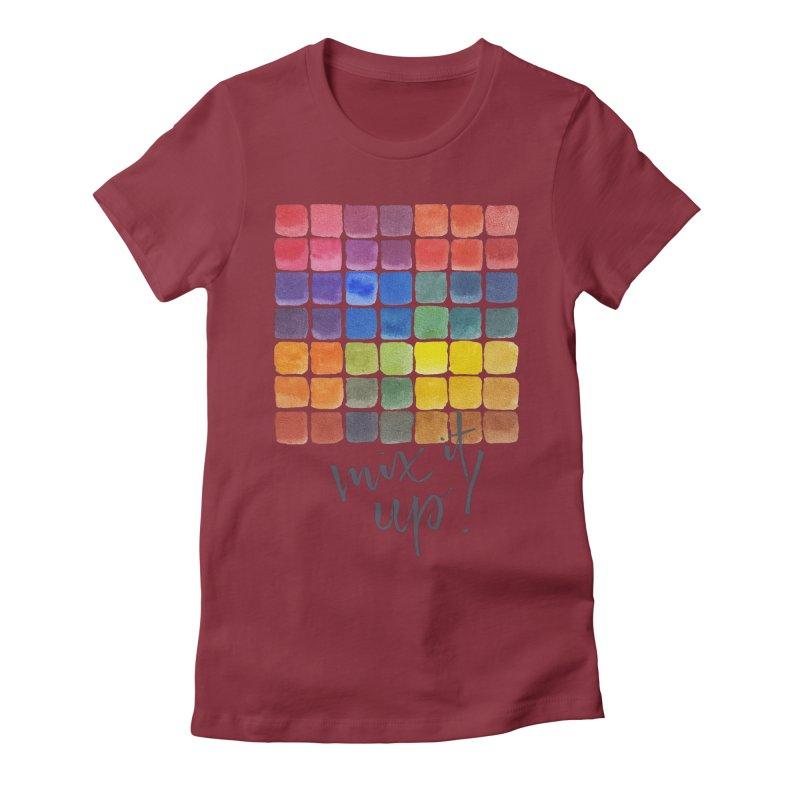Mix it Up! - Mixing Chart Women's T-Shirt by milenabdesign's Artist Shop
