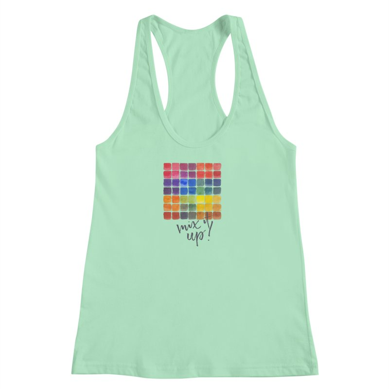 Mix it Up! - Mixing Chart Women's Tank by milenabdesign's Artist Shop