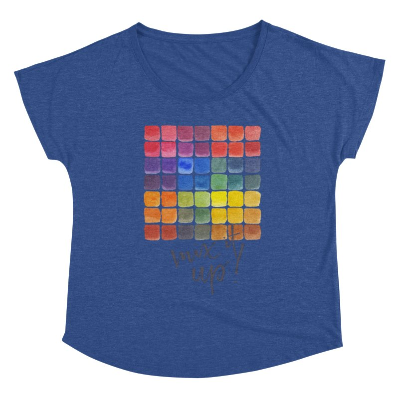 Mix it Up! - Mixing Chart Women's Scoop Neck by milenabdesign's Artist Shop