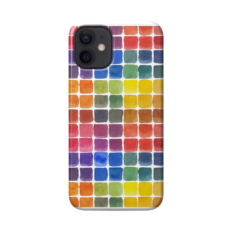 Mix it Up! - Watercolor Chart Pattern Accessories Phone Case by milenabdesign's Artist Shop