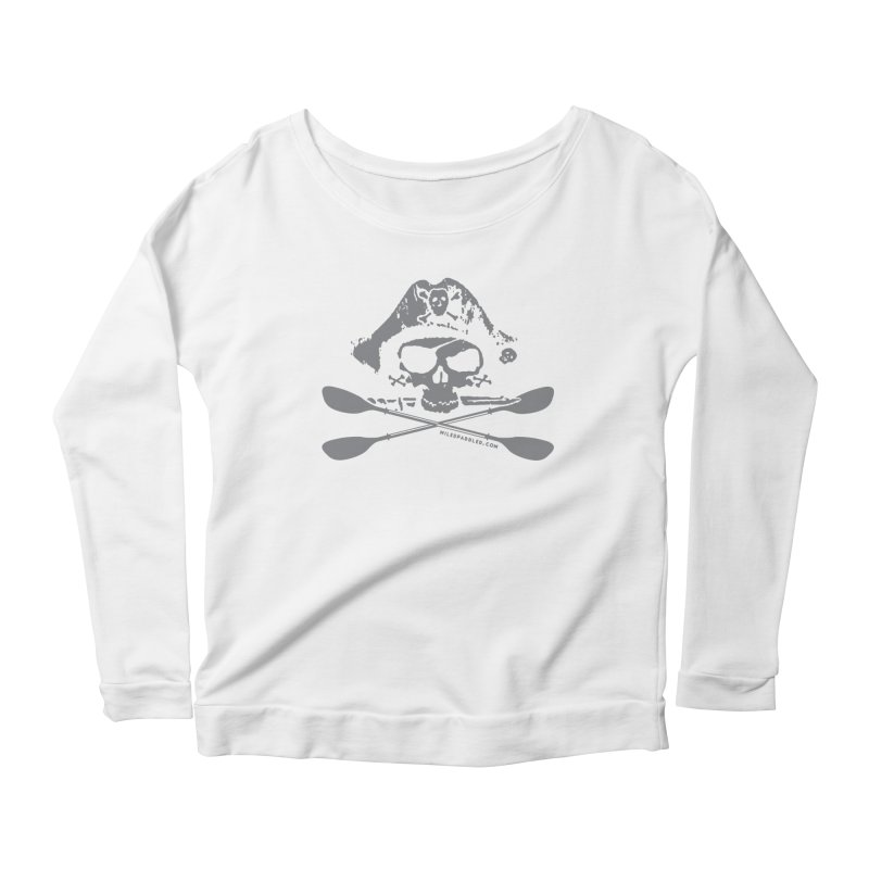 Miles Paddled Light Logo Women's Longsleeve T-Shirt by Miles Paddled