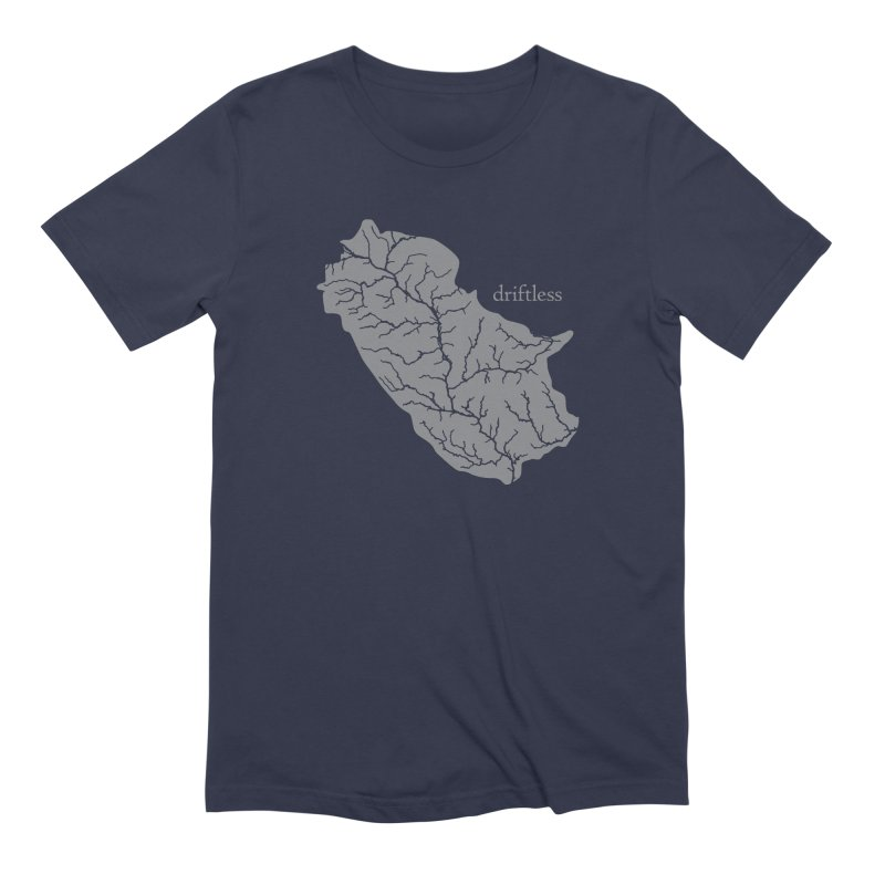 Driftless Light Men's T-Shirt by Miles Paddled
