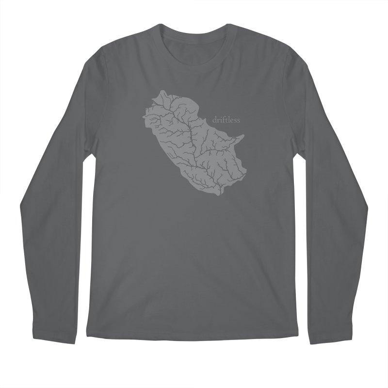 Driftless Light Men's Longsleeve T-Shirt by Miles Paddled