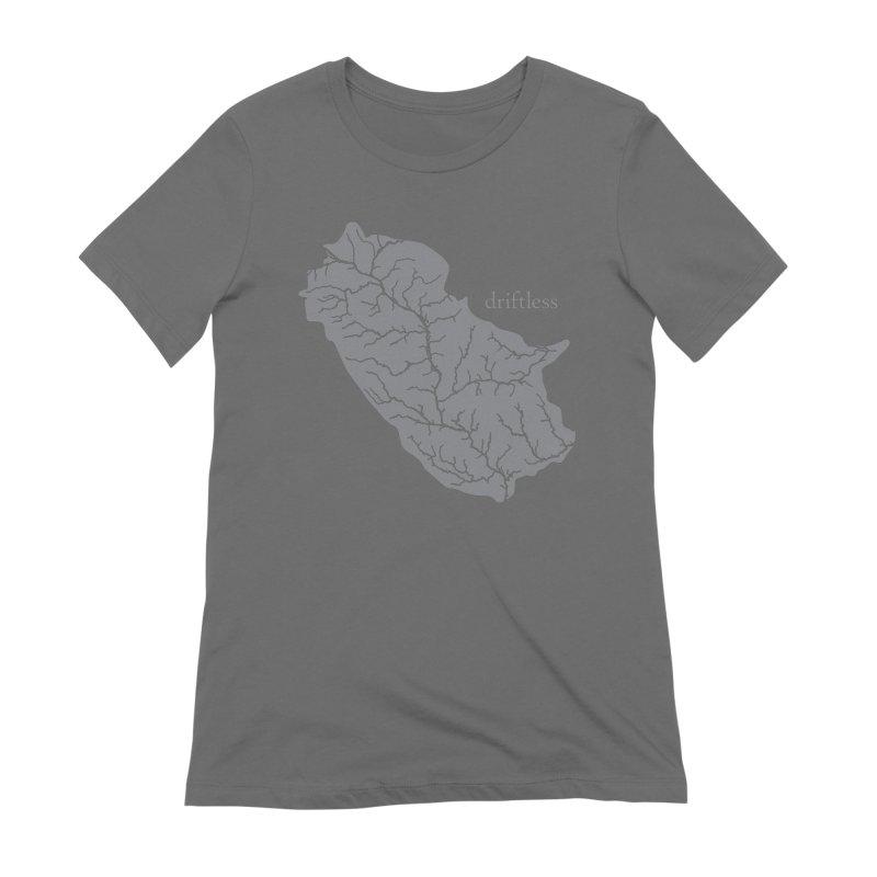 Driftless Light Women's T-Shirt by Miles Paddled