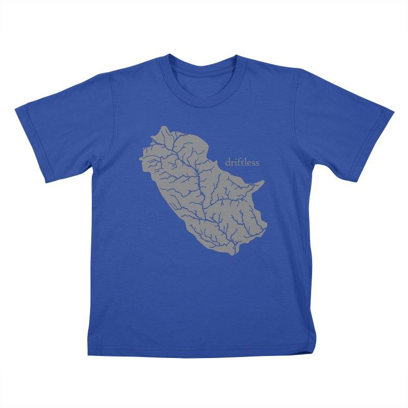 Driftless Light Kids T-Shirt by Miles Paddled
