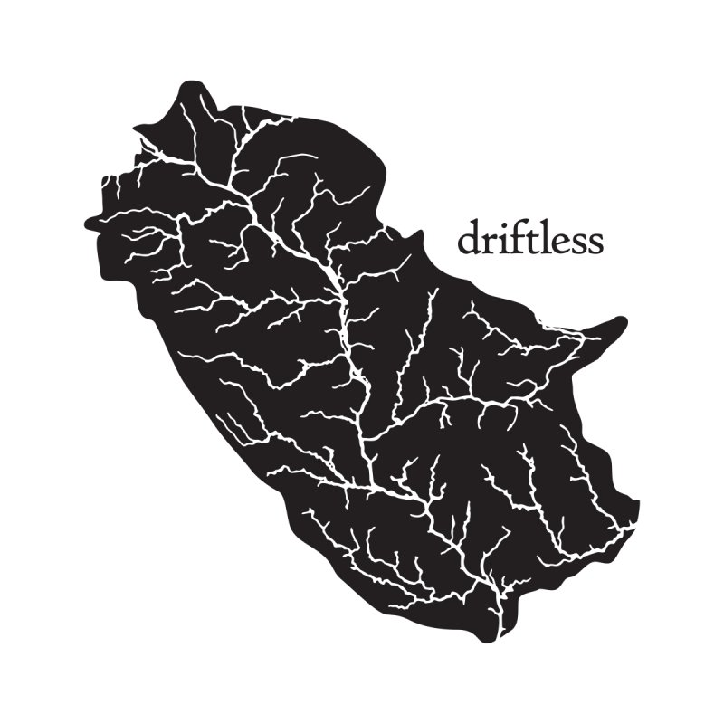 Driftless Dark Women's T-Shirt by Miles Paddled