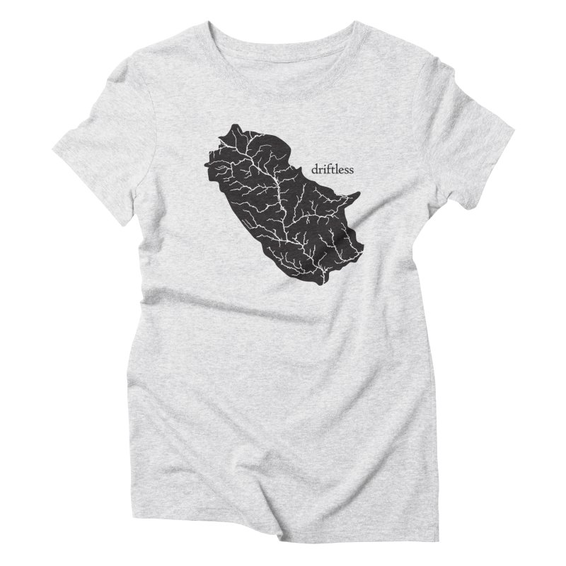 Driftless Dark Women's T-Shirt by Miles Paddled