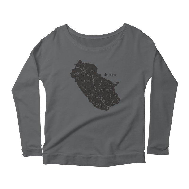 Driftless Dark Women's Longsleeve T-Shirt by Miles Paddled
