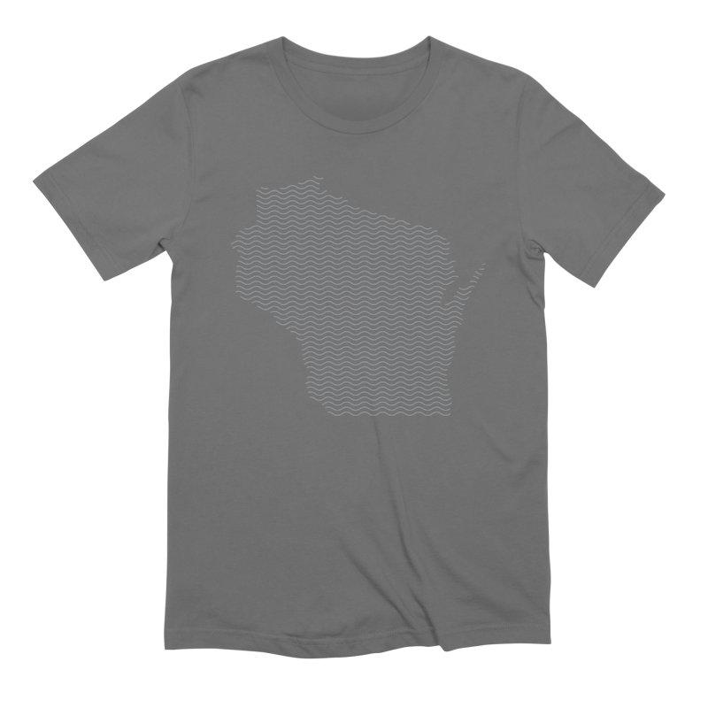 Wisco Riffles Light Men's T-Shirt by Miles Paddled