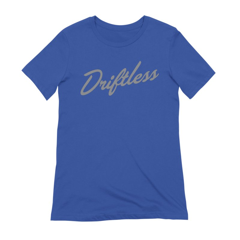Driftless Typography Light Women's T-Shirt by Miles Paddled