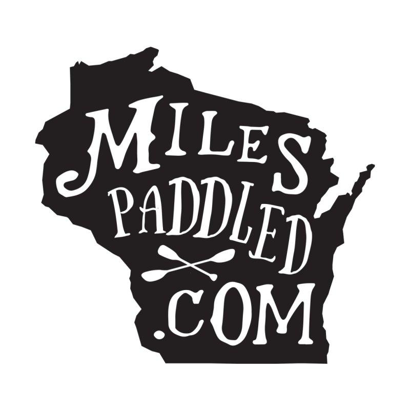 Miles Paddled Wisco Kids Dark Kids T-Shirt by Miles Paddled