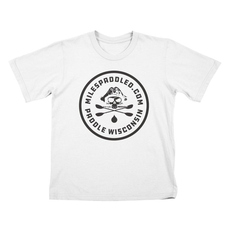 Milespaddled Class I Badge Dark Kids T-Shirt by Miles Paddled
