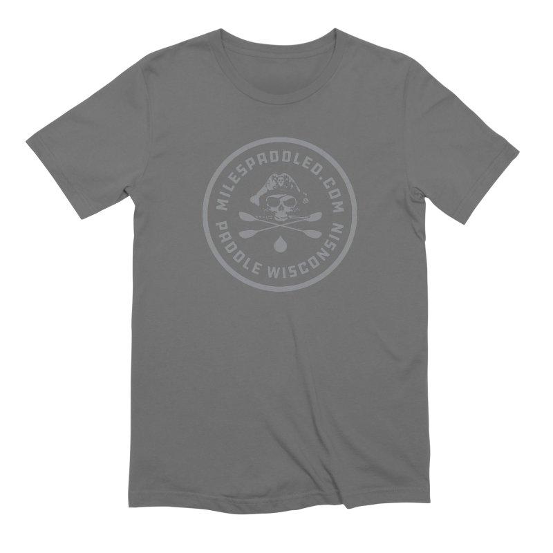Milespaddled Class I Badge Light Men's T-Shirt by Miles Paddled