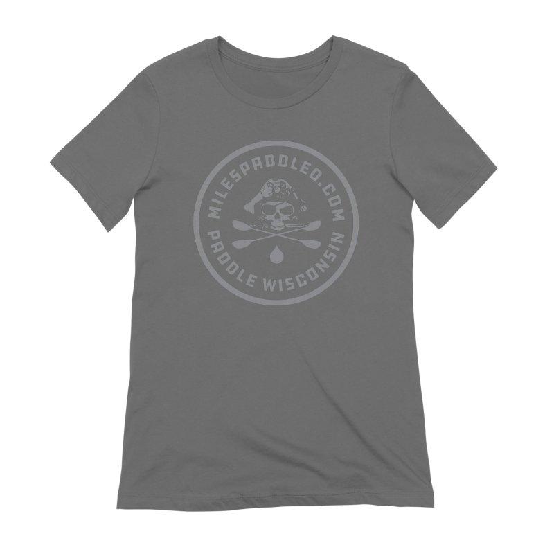 Milespaddled Class I Badge Light Women's T-Shirt by Miles Paddled