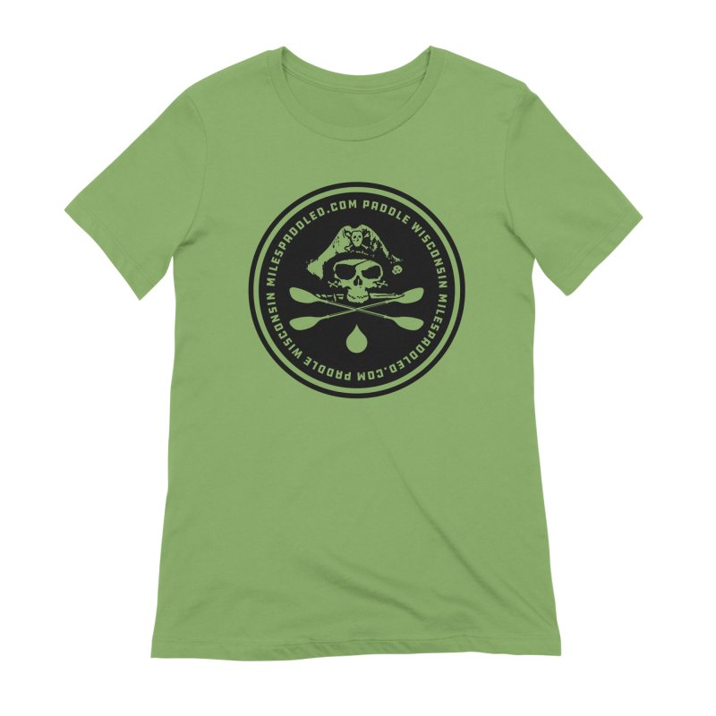 Milespaddled Lights Off Badge Too Women's T-Shirt by Miles Paddled