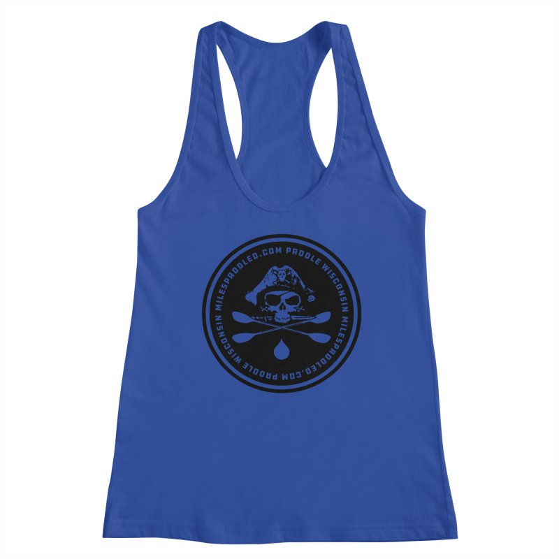 Milespaddled Lights Off Badge Too Women's Tank by Miles Paddled