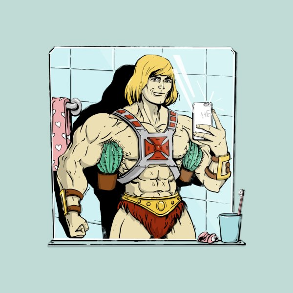 image for He-man selfie