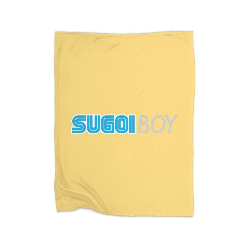 sugoi boy Home Blanket by milkbarista's Artist Shop