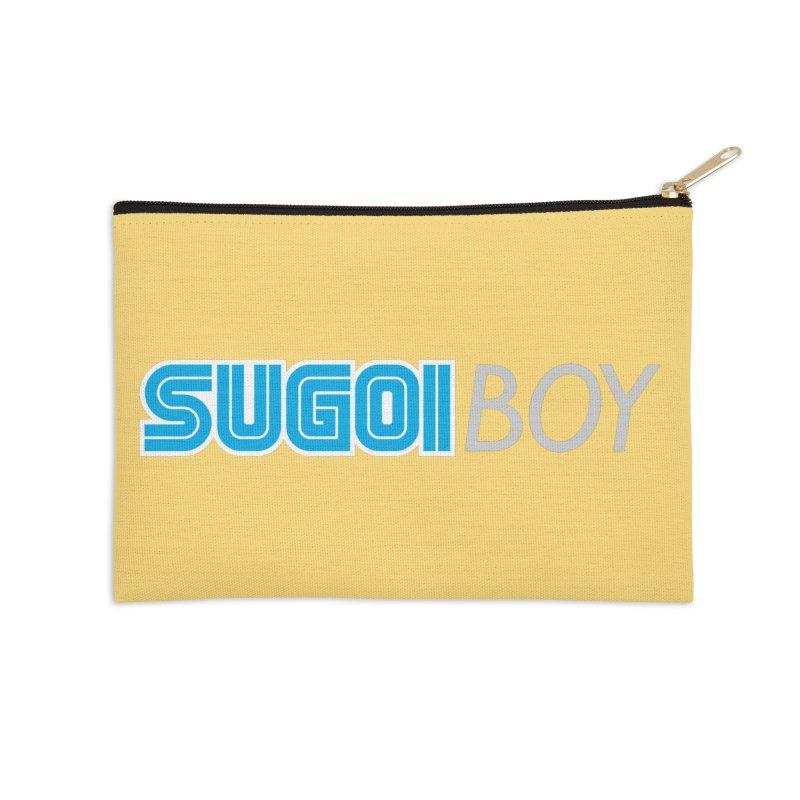 sugoi boy Accessories Zip Pouch by milkbarista's Artist Shop