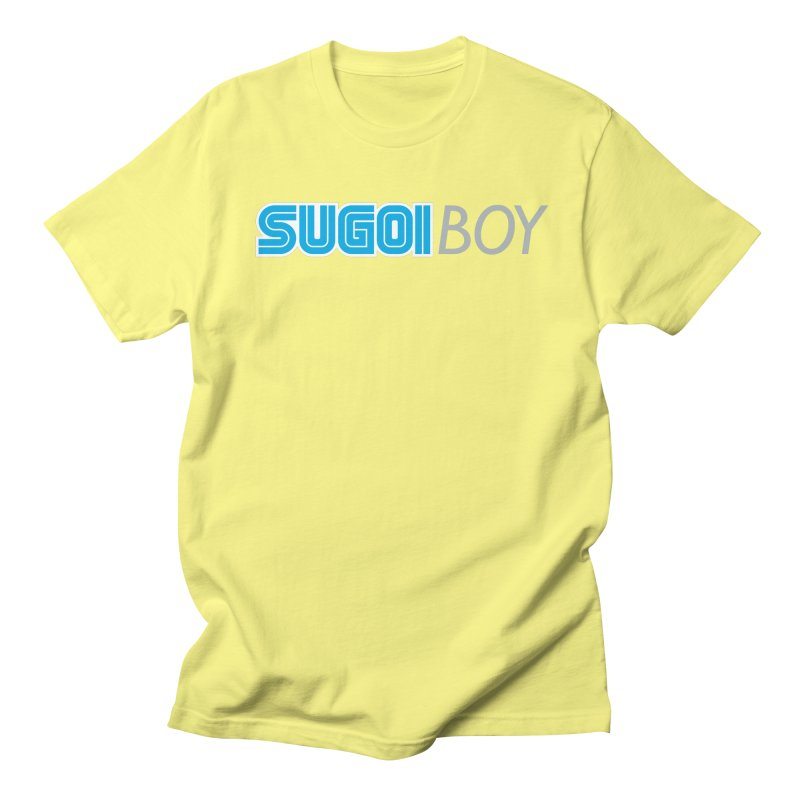 sugoi boy Men's T-shirt by milkbarista's Artist Shop