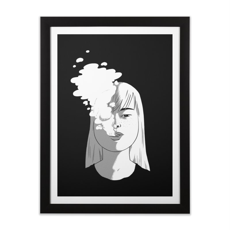 smokin' Home Framed Fine Art Print by milkbarista's Artist Shop