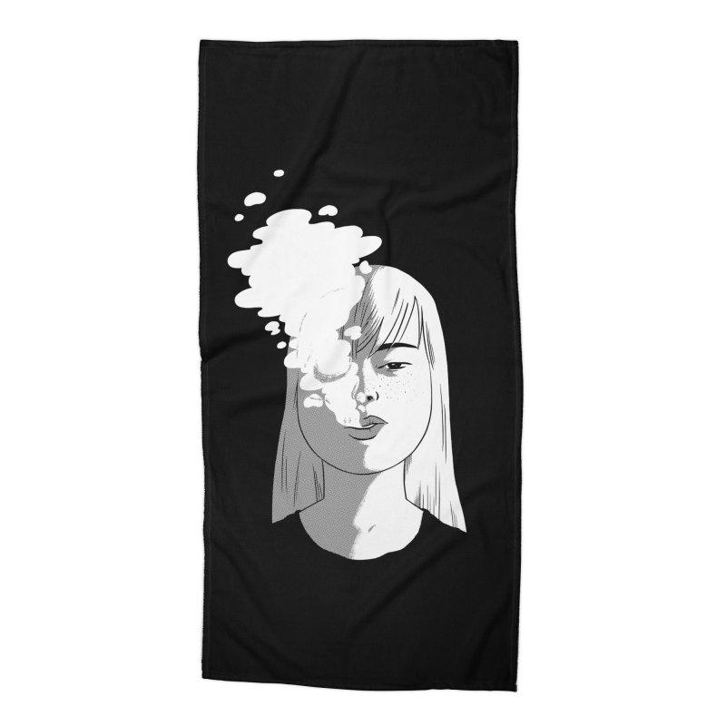 smokin' Accessories Beach Towel by milkbarista's Artist Shop