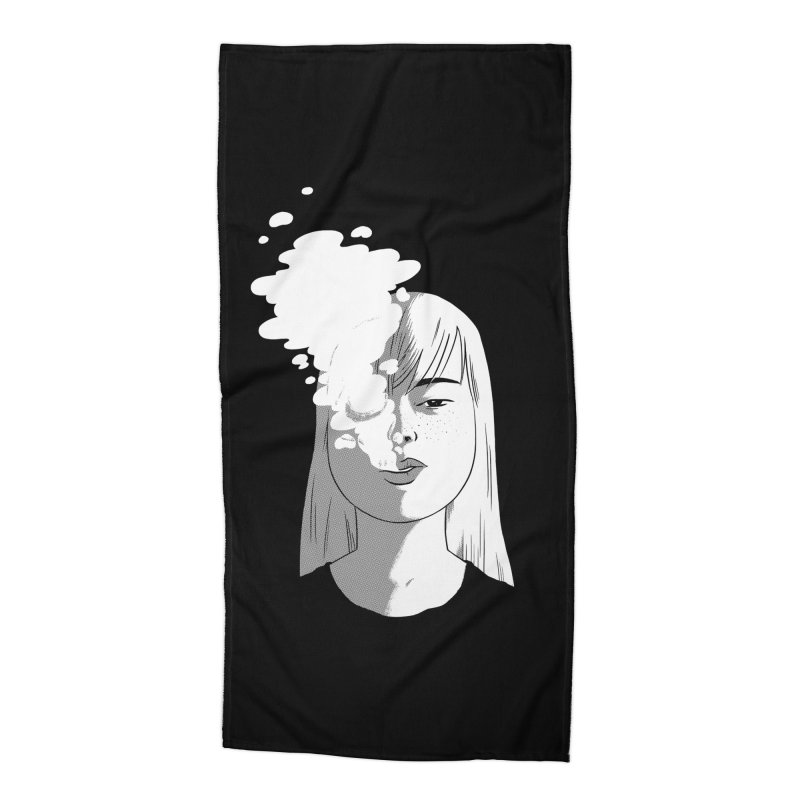 smokin' Accessories Beach Towel by milkbarista's Artist Shop