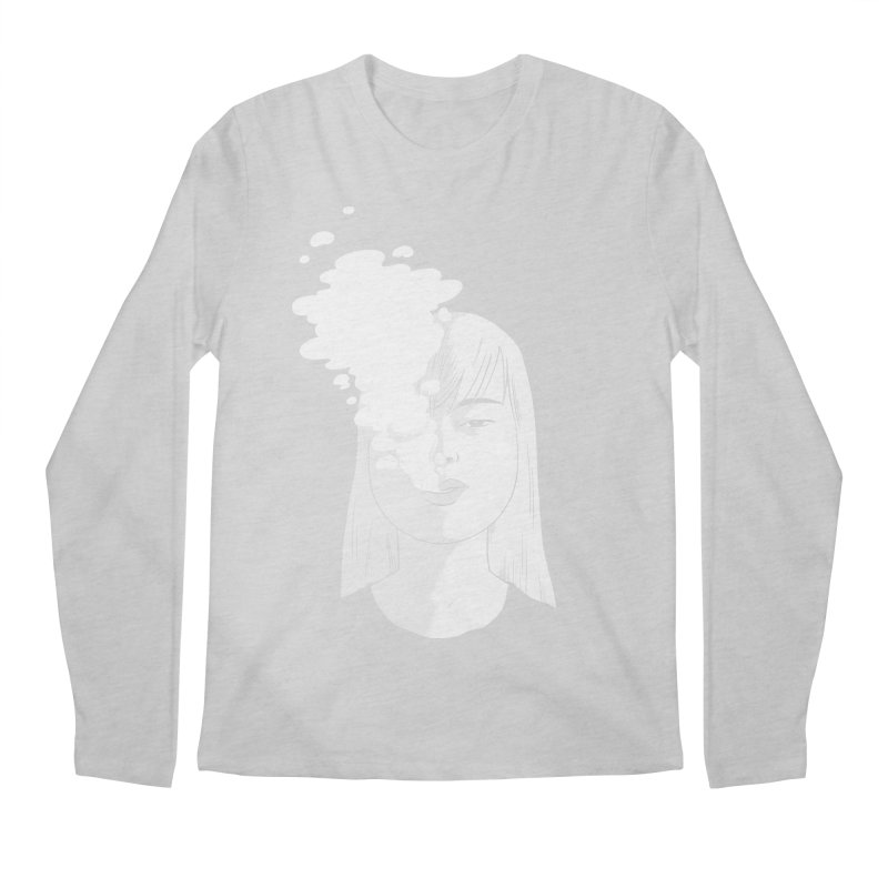 smokin' Men's Longsleeve T-Shirt by milkbarista's Artist Shop