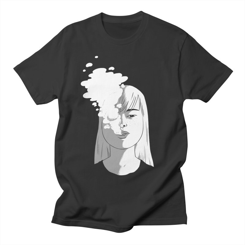 smokin' Men's Regular T-Shirt by milkbarista's Artist Shop