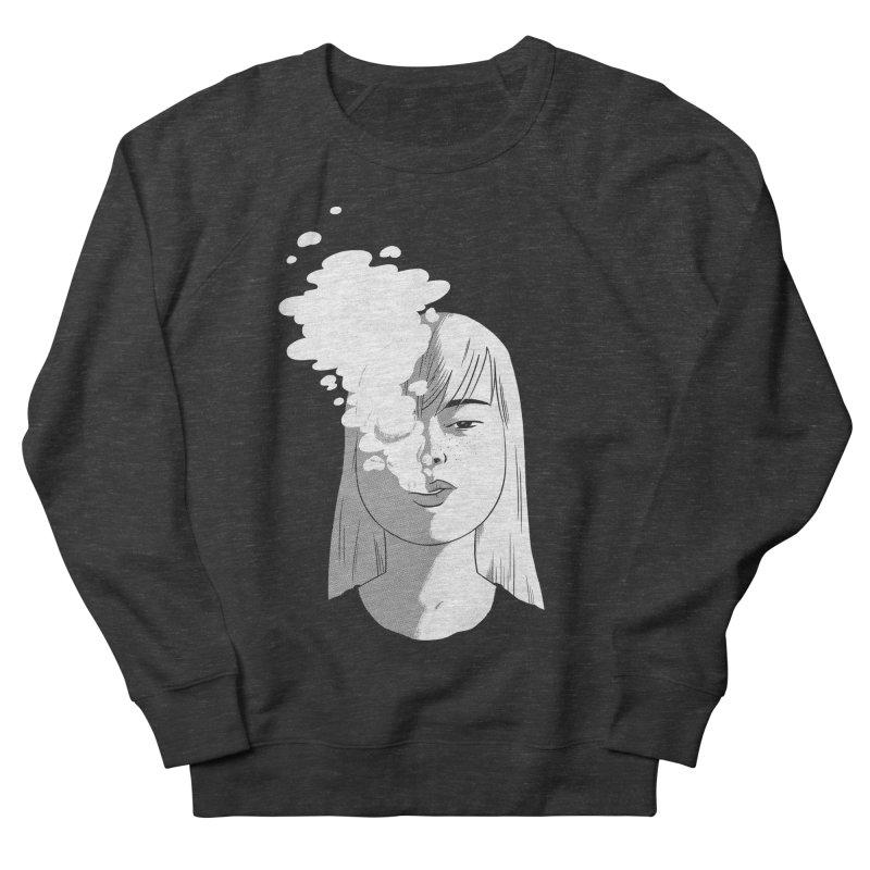 smokin' Women's French Terry Sweatshirt by milkbarista's Artist Shop