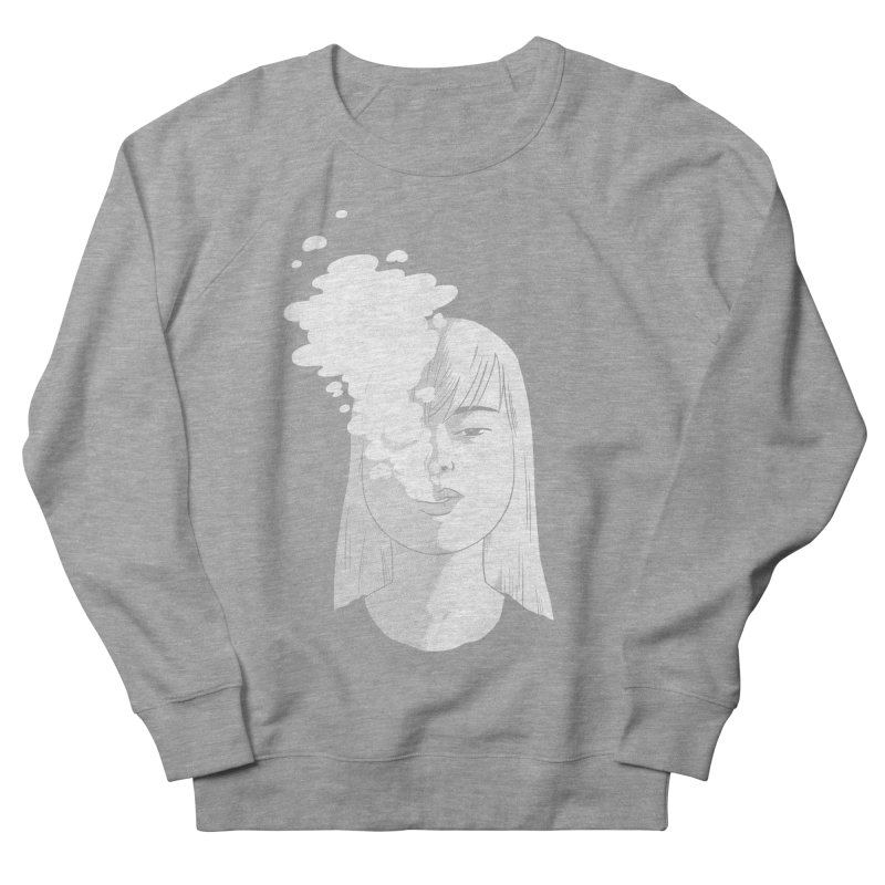 smokin' Men's Sweatshirt by milkbarista's Artist Shop