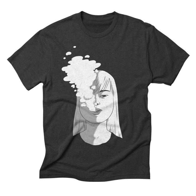 smokin' Men's Triblend T-Shirt by milkbarista's Artist Shop