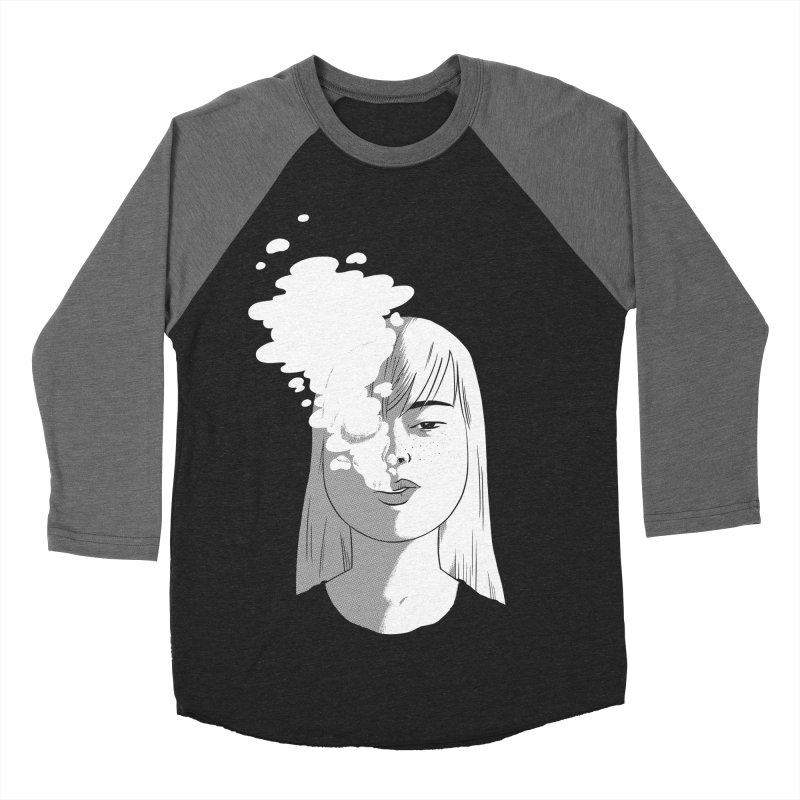 smokin' Women's Baseball Triblend T-Shirt by milkbarista's Artist Shop